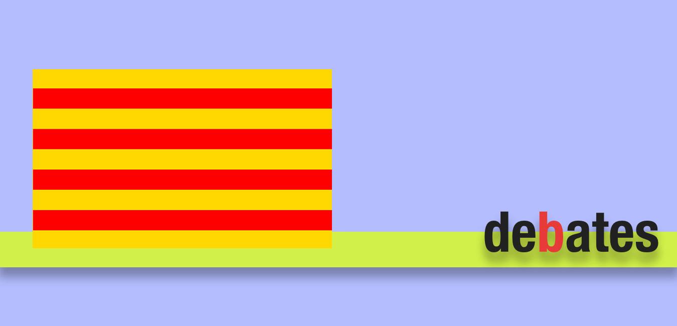 Debate político sobre Cataluña