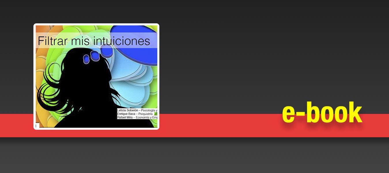 """Compra el e-book de """"Filtrar mis intuiciones"""""""