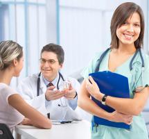 Médicos salud
