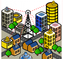 Apoyar las inversiones en infraestructuras básicas de comunicación
