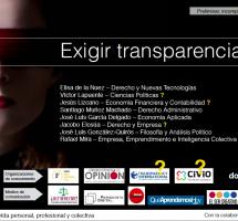 """Leer el ebook """"Exigir Transparencia"""" de la plataforma de la sociedad civil G2020"""