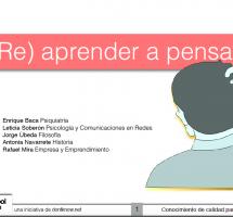 """Leer el ebook """"(Re) Aprender a pensar"""" de Enrique Baca"""