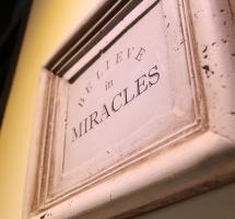Creer en los milagros