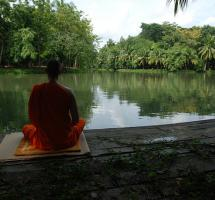 Creer que la meditación es buena para la salud