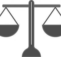 ilustracion de una balanza