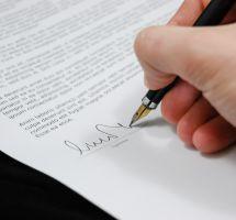Documento y firma
