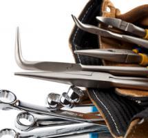 cinturon con diversas herramientas