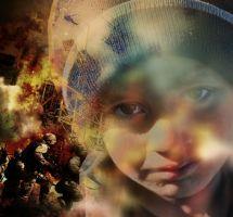 Conflicto bélico, población