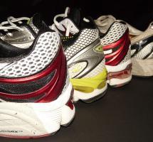 Llevar calzado especial para maratón