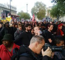 Manifestación de la sociedad civil