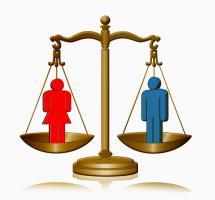 Participar en campañas por la igualdad de la mujer