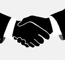 Sellar un acuerdo con un simple apretón de manos