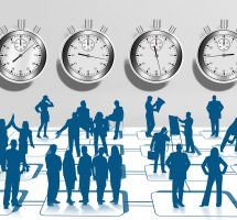 empresa, horario