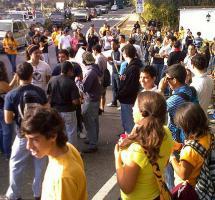 estudiantes manifestaciones solidaridad