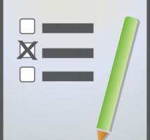 Ilustración de una papeleta de voto