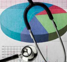 Diagnostico y métricas médicas en un historial clínico