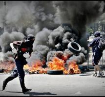 violencia, manifestaciones